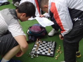 ... And chess on Sports Day too!