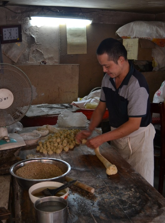 Making fried bread