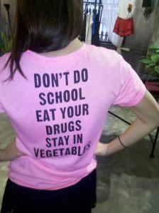 pink chinglish shirt