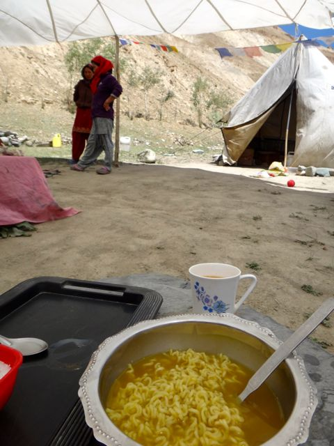 Time for a rest and some maggi noodles