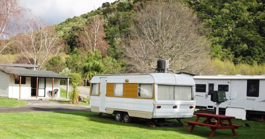 Parklands Marina Holiday Park, Waikawa