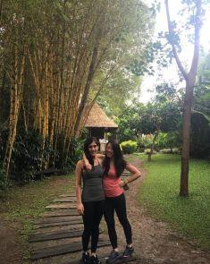 Post yoga session - feeling rejuvenated!